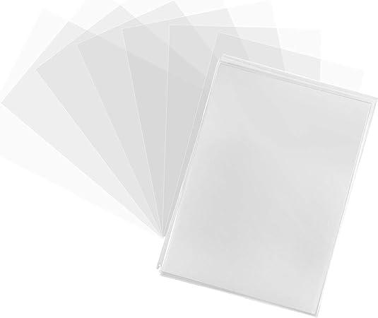 66 mm x 91 mm. Ultra Pro Fundas para Tarjetas de Comercio 50 Protectores de Cubierta Negra Pokemon//MTG tama/ño