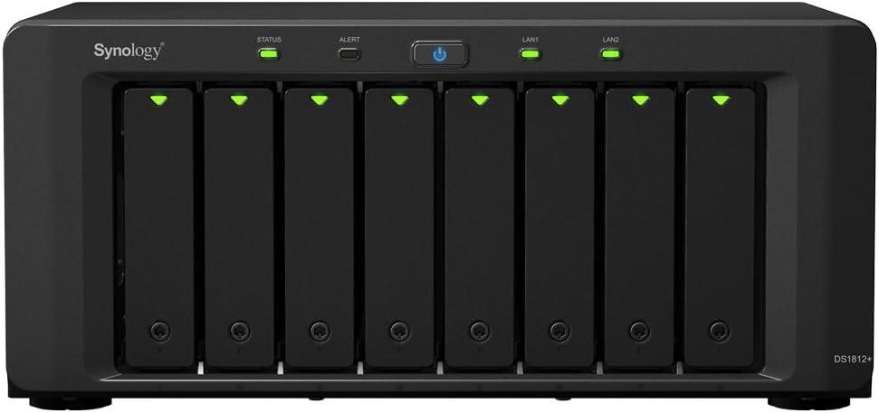 Synology Diskstation Ds1812 Nas Server Computer Zubehör