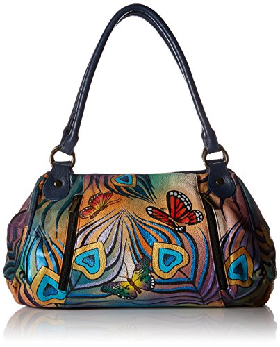 anuschka-anna-by-handpainted-leather-ruched-large-satchel-flying-peacock