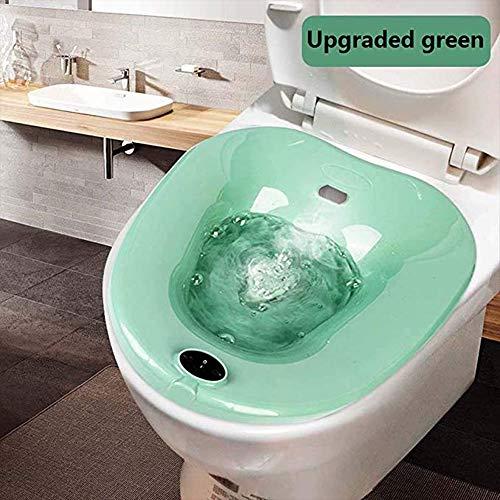 YUXINCAI Bide De WC Y Perineal Wet Bano para Alivio De Las Hemorroides En Mujeres Embarazadas Y Los Ancianos,Verde