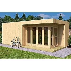 Best Epic Trends 51w9Hy7lF6L._SS300_ Allwood Arlanda XXL | 273 SQF Studio Cabin Garden House Kit