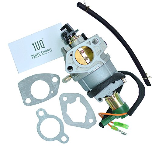 Gasoline Solenoid - 1UQ Carburetor Carb For Generac GP5500 5945 5975 Gasoline Generator Carburetor with Solenoid