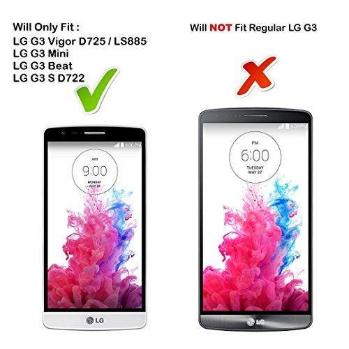 DuroCase ® LG G3 Vigor D725 / LG G3 Vigor LS885 / LG G3 Mini / LG G3 Beat / LG G3 S D722 Hard Case White - (XOXO Love)