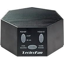 Adaptive Sound Technologies ASM1007-BF Lectrofan Noise and Fan Sound Machine, Black