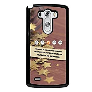 Lg G3(Not For Lg G3 Vigor) Case Colorful Divergent Pattern Thinshell Cover Case