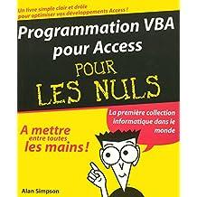 Prog. vba pour access..  nuls