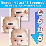 No Hassle, Quick Read Forehead Thermometer Strips 2