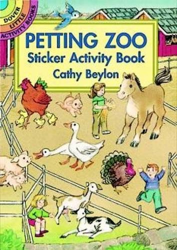 Dover Petting Zoo Sticker Activity Book (Dover Little Activity Books Stickers) -