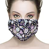 Healthyair 100% cotton Mask - Asthma/Allergy Air Filtering Dust Mask with Germ Killing Antimicrobial Ideal for Sanding & Drywall, Renovation & Construction Pollen Allergy (003)