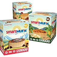 Smartmuf'n Value Pack (MVP)- Gluten-free, Keto-friendly, Smart Baking Breakfast Muffins - Includes Banana Nut, Chocolate Chip, Pumpkin Spice Flavors