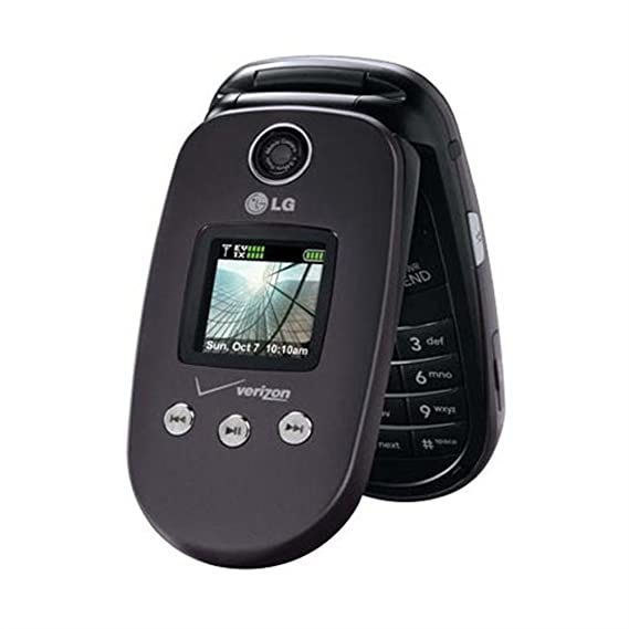 amazon com lg vx 8350 dark gray cell phone for verizon wireless rh amazon com