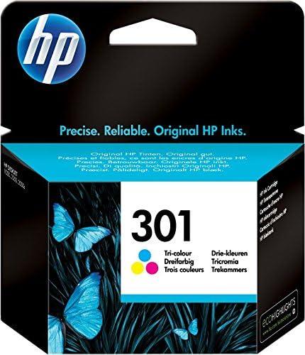 HP 301 CH562EE, Cartucho de Tinta Original Tricolor, Compatible ...