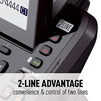 Panasonic Kx-tg9542b Link2cell Bluetooth Enabled 2-line Phone With Answering Machine & 2 Cordless Handset 3