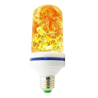 Llama Bombilla, efecto llama la bombilla E27 1400 K bombilla LED Bulb creativos luces lámpara