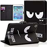 iPad Mini Case, Dteck(TM) Slim Fit Cute PU Leather Flip Stand Wallet Case with Auto Sleep/Wake Function Smart Cover for Apple iPad Mini 1 2 3 (02 Don't Touch)