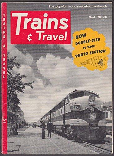 TRAINS & TRAVEL Joliet Union Station Lima Locomotives NYC Hudson ++ 3 1952 - Hudson Locomotive