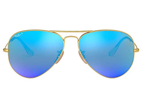 Amazon.com: Ray-Ban RB3025 112/4L Aviator anteojos de sol ...