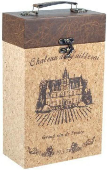 Caja Decorativa para Botellas de Vino