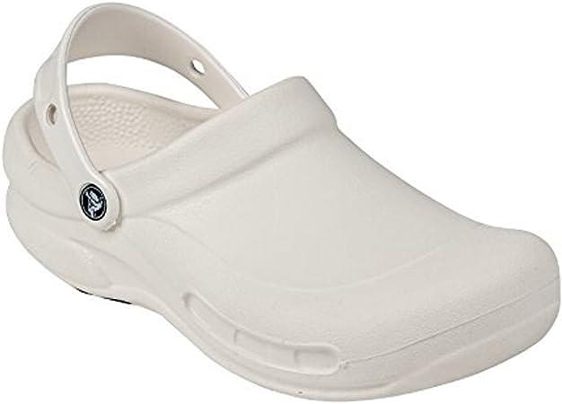 White Bistro Crocs (48): Amazon.co.uk