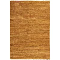 Safavieh Organica Collection ORG111A Hand-Knotted Natural Wool Area Rug (5 x 8)