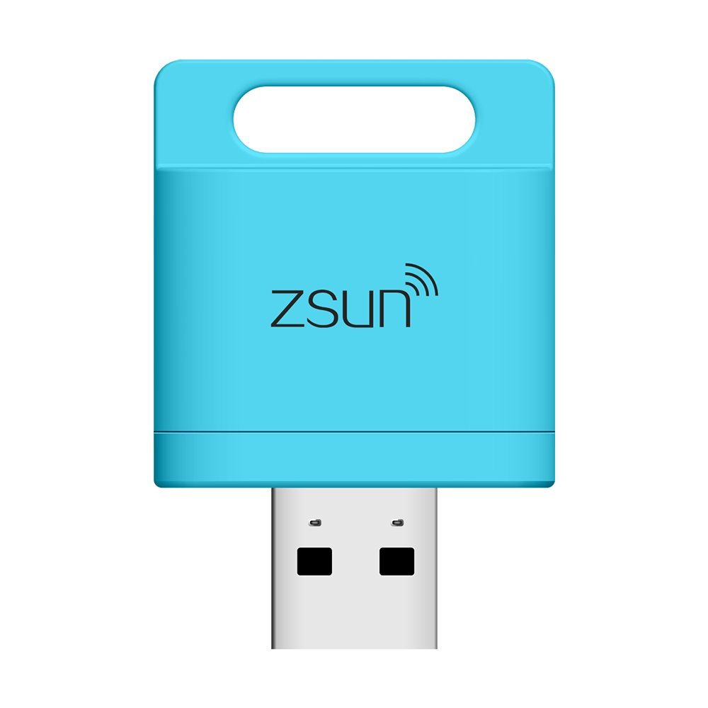 Amazon com: ZSUN Portable WiFi/ Portable TF Card Reader for