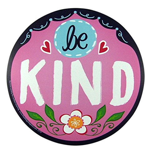 Be Kind Magnet for Car Locker or Refrigerator, 8 5/8 Inch ()