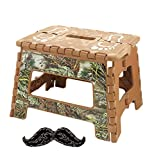 Hot Brown Camouflage Adult Kitchen Folding Step Up Chair Stepping 9