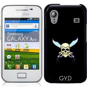 Funda para Samsung Galaxy Ace (GT-S5830) - Cráneo Del Pirata by hera56