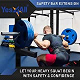 Yes4All Safety Spotter Arms for 2x2 Power Rack