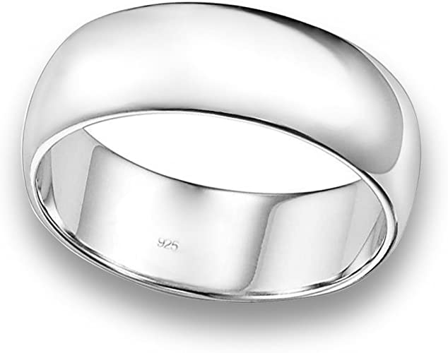 Silver Jewellery Size V Silver Ring Sterling Silver Jewellery Plain Silver Band Sterling Silver Ring Thumb Ring Silver Band Plain