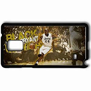 Personalized Samsung Note 4 Cell phone Case/Cover Skin 15026 lakers wp 42 sm Black hjbrhga1544