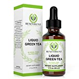 Green Tea Extract - Liquid Herbal Supplement with EGCG - Guaranteed Potency - One Serving=10 Cups Of Green Tea - Powerful Antioxidant - 100% Alcohol & Gluten Free, Non GMO 2oz Bottle