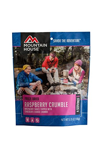 Mountain House Raspberry Crumble (Mountain House Dehydrated Food)