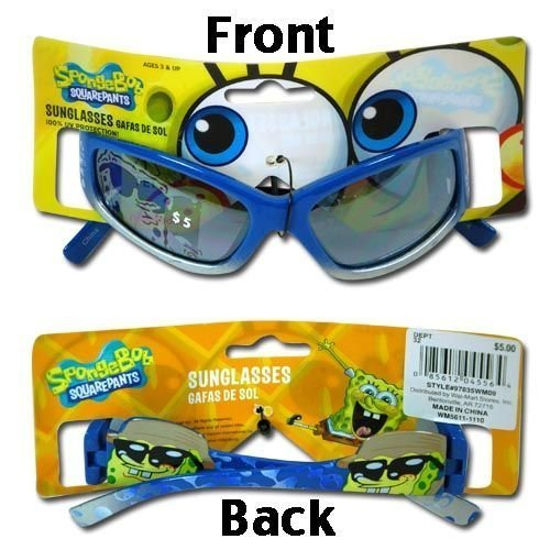 Sponge Bob Squarepants Childrens Sunglasses by Nickelodeon by - Upd Sunglasses