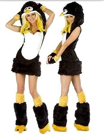 Disfraz de pingüino para mujer, disfraz de animal, para Halloween ...