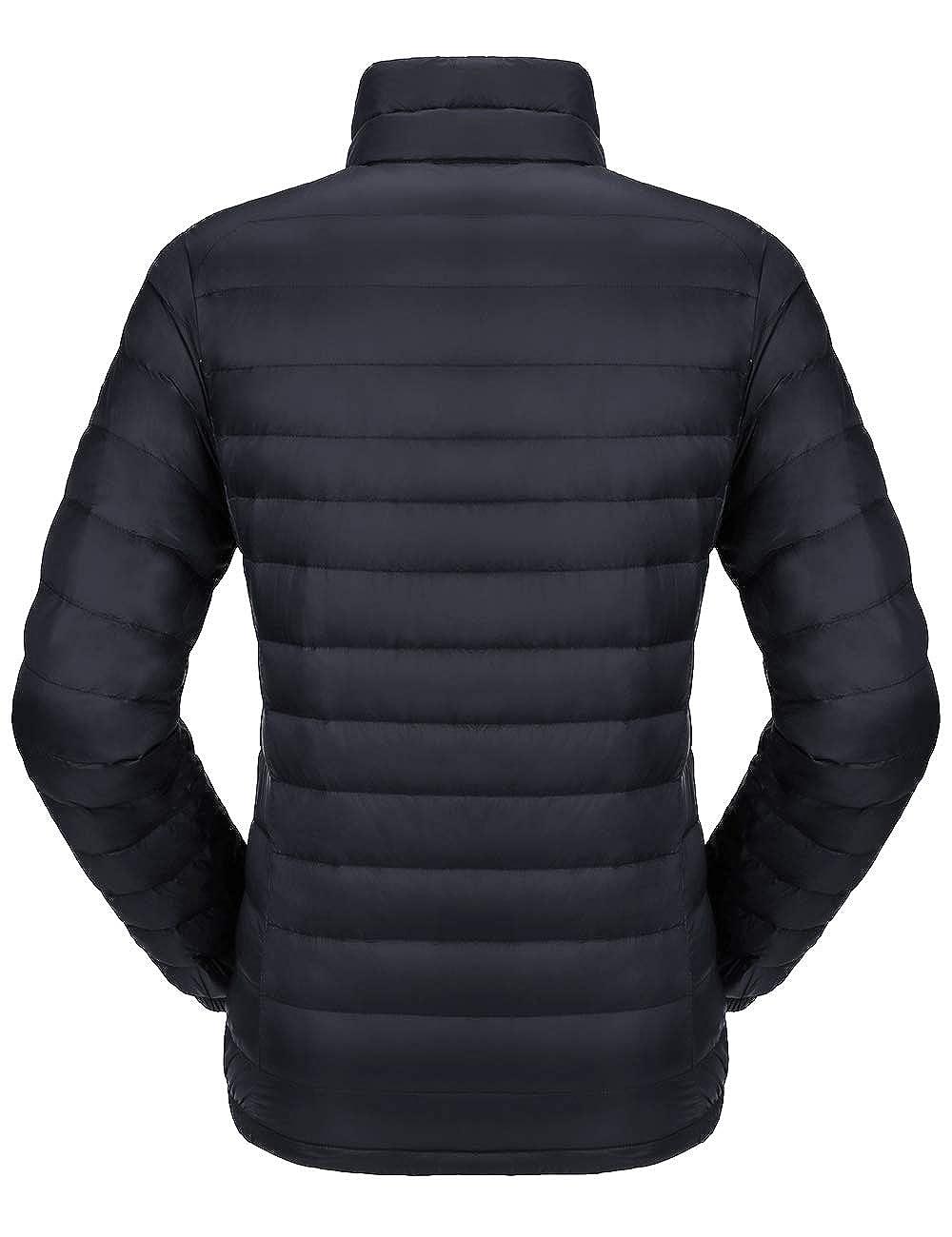 Camel Womens Down Jacket Lightweight Packable Puffer Down Coats Short Parka Jackets Winter Coats with 4 Pockets