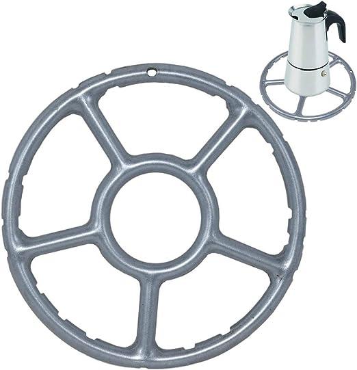 ToSSme - Reductor de anillos de gas multifunción para estufa, cocina o cafetera, de aleación de 12,7 cm
