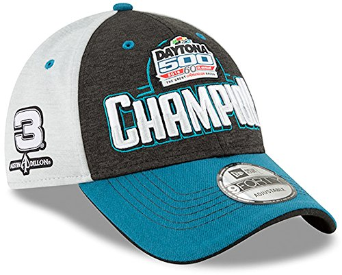 New-Era Austin Dillon 2018 Daytona 500 Official Victory Lane NASCAR Hat