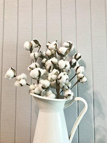 Farmhouse Chic Cotton Boll Spray Rustic 20