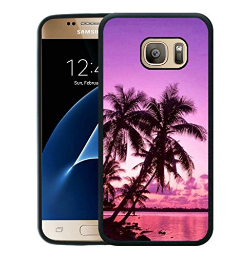 Galaxy Tropical Trees Sunset Samsung product image
