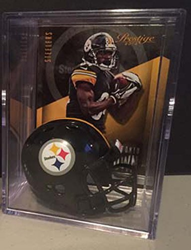 Pittsburgh Steelers Helmet Shadowbox Antonio