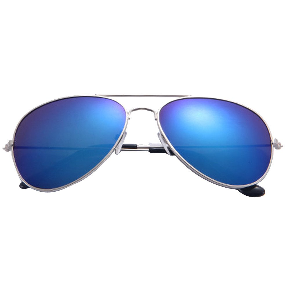 Aviator Sunglasses Polarized Mirrored Lens for Men Women, Sale! DEATU Classic Metal Designer Goggles UV 400 Protection(C,One size)