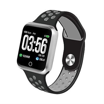 IRFKFT Reloj inteligentePantalla táctil Fitness Tracker Monitor de ...