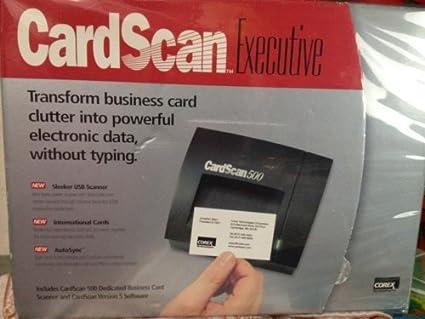 Amazon e205320 5c corex technologies cardscan 500 business e205320 5c corex technologies cardscan 500 business cards scanner reheart Image collections