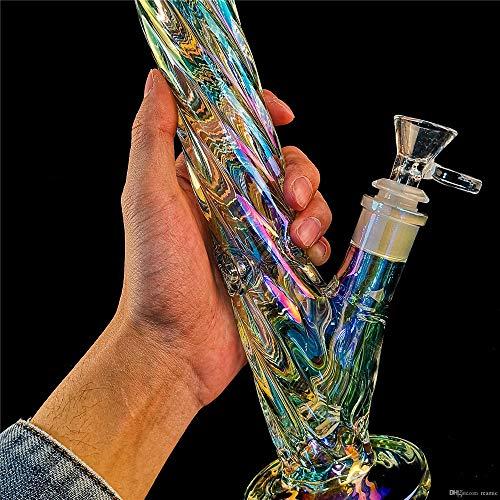 Aduben 12 Inch 2019 Unique Design Spiral Colorful Cool Art - Bongs Glass Ice