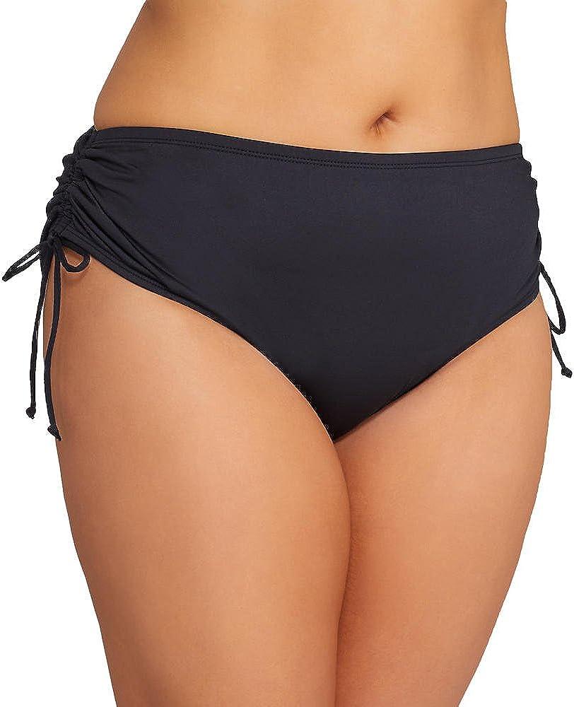 24th /& Ocean Womens High Waist Hipster Bikini Swimsuit Bottom Bikini Bottoms