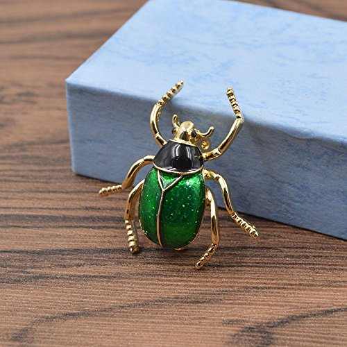 Enamel Bug - Enamel Bugs Brooches Fashion Insect Beetle Brooch Pin Cute Kids Gift Fashion Jewelry Alloy Accessories Winter Style