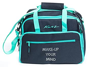 778c9a126961 Image Unavailable. Image not available for. Colour  Katz Dancewear Girls  Ladies Large Black Dance Ballet Tap Make Up Holdall Cosmetic Bag KB71