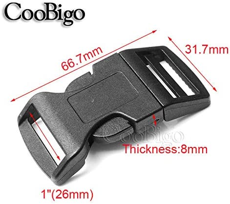 Bag Buckles Paracord Bracelet Accessories Curved Buckle Strap Webbing Tool