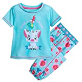 Disney Pua and HEI HEI PJ Set for Girls - Moana Size 5/6 Multi